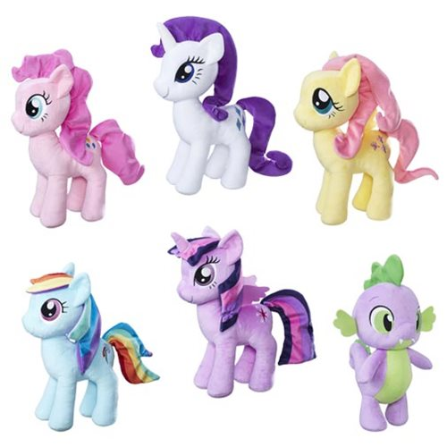 My Little Pony Cuddly Plush Wave 2 Case
