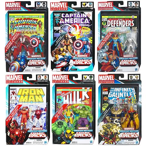 Marvel Universe Figures Comic Packs Greatest Battles Wave 2