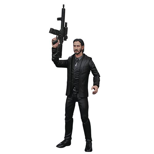 John Wick Select Black Suit Action Figure