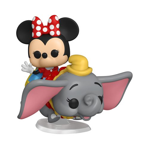 Disneyland 65th Anniversary Flying Dumbo Ride with Minnie Pop! Vinyl Ride, Not Mint