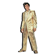 Elvis Presley Gold Suit Funky Chunky Magnet