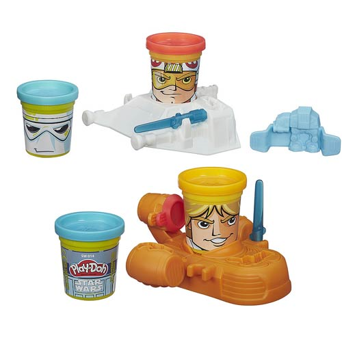 Star Wars Play-Doh Can-Heads Character 2-Packs Wave 1 Set