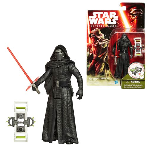 Star Wars: The Force Awakens 3 3/4-Inch Jungle and Space Kylo Ren Action Figure