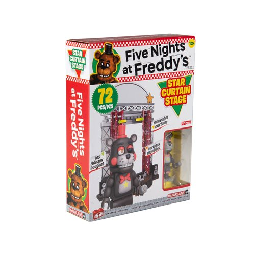 Five Nights at Freddy's Series 6 Star Curtain Stage Small Construction Set