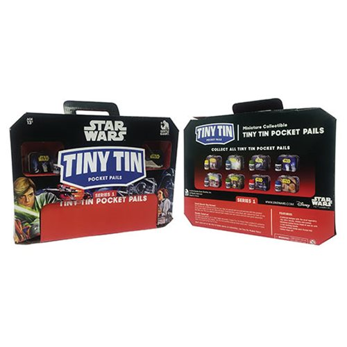 Star Wars Tiny Tins Series 1 Case
