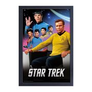 Star Trek: The Original Series Cast Framed Art Print