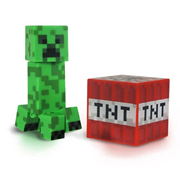 Minecraft Core Creeper Action Figure, Not Mint