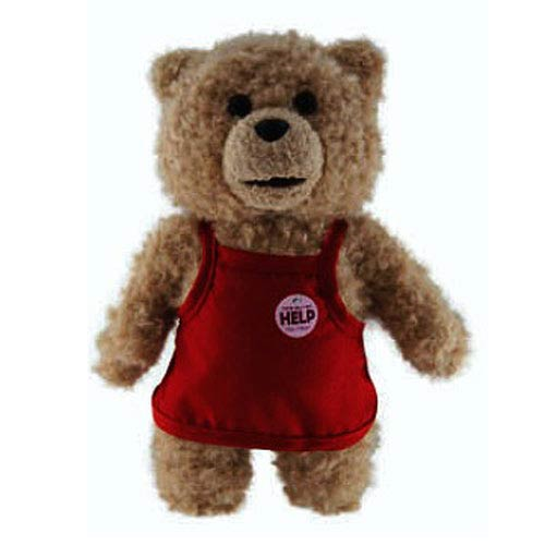 Ted in Apron 8-Inch Talking Plush Teddy Bear
