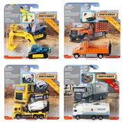 Matchbox Working Rigs Vehicle Mix 3 Case