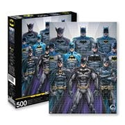 DC Comics Batman Batsuits 500-Piece Puzzle