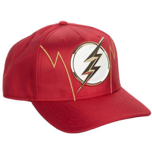 The Flash Ballistic Nylon Pre-Curved Snapback Hat