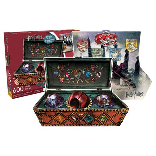 Harry Potter Quidditch Set 600-Piece 2-Sided Puzzle