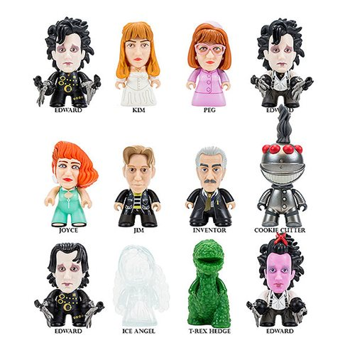 Edward Scissorhands I'm Not Finished Collection Display Case