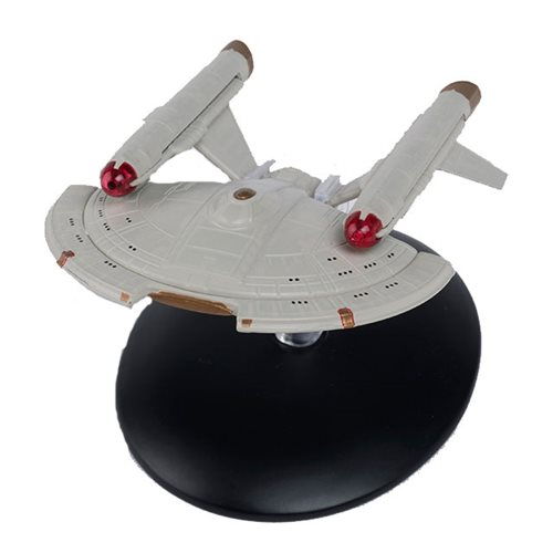 Star Trek Starships U.S.S. Intrepid Die-Cast Vehicle with Collector Magazine