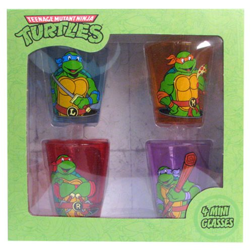 Teenage Mutant Ninja Turtles Classic Shot Glass Set 4-Pack