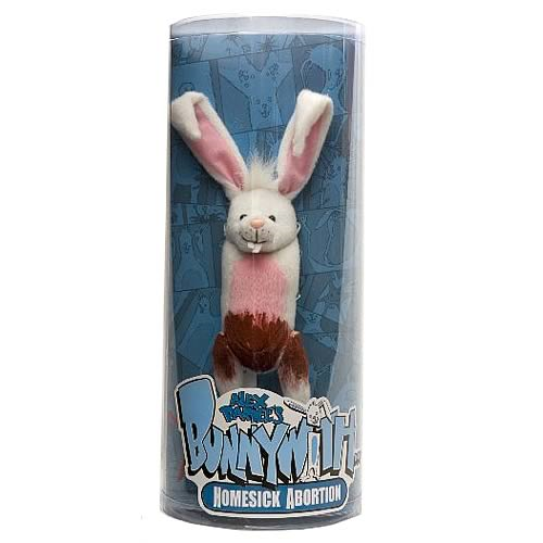 Bunnywith Homesick Abortion Plush