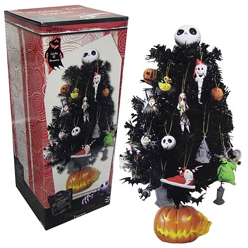 nightmare before christmas tree halloween town diorama