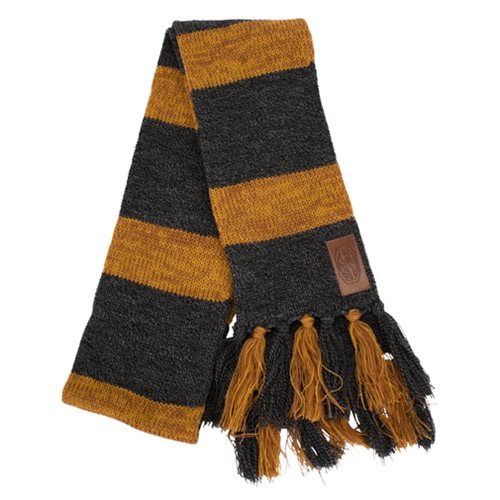 Fantastic Beasts and Where to Find Them Newt Scamander Hufflepuff Knit Scarf