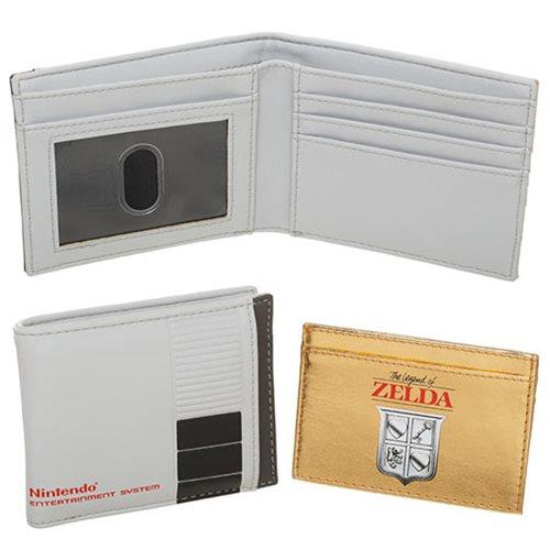 Nintendo 2 in 1 Bifold Wallet with Zelda Cartridge Wallet