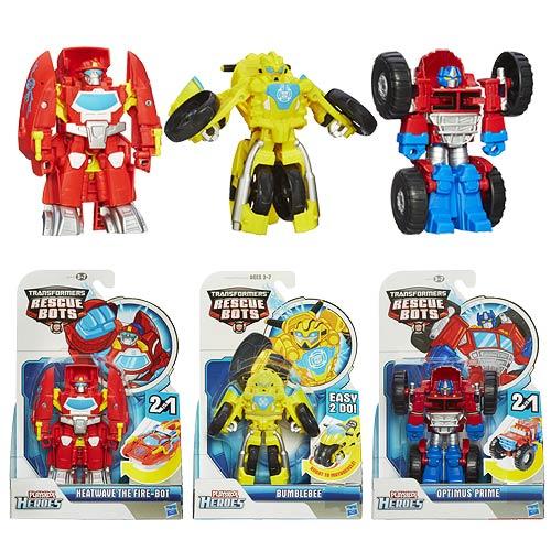 Delightful Transformers Rescue Bots Rescan Figures Wave 1 Set