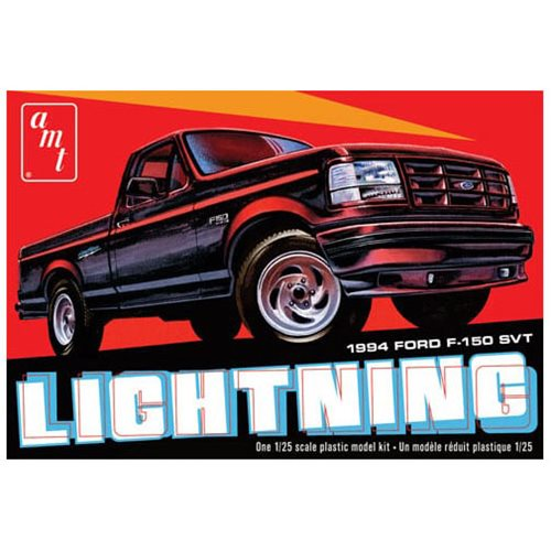 1994 Ford F-150 Lightning Pickup 1:25 Scale Die-Cast Model Kit