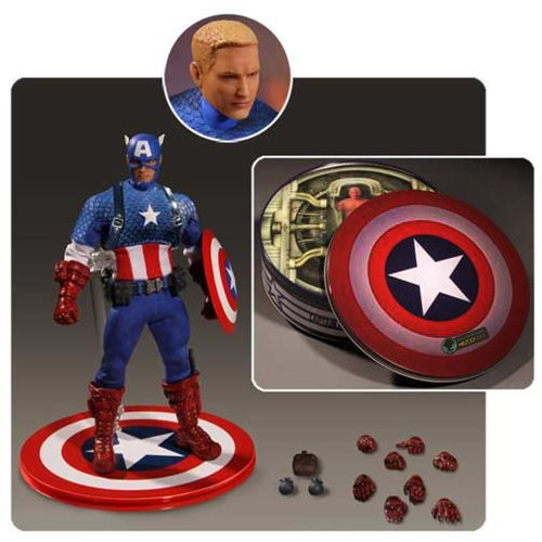 Captain America One:12 Collective Deluxe Version Action Figure