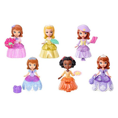 Sofia the First 3-Inch Action Figure Case