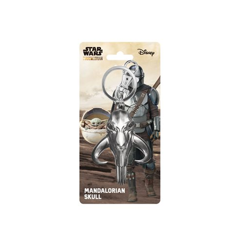 Star Wars: The Mandalorian Mudhorn Skull Pewter Key Chain