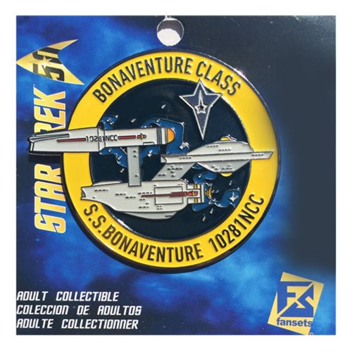 Star Trek SS Bonaventure Pin
