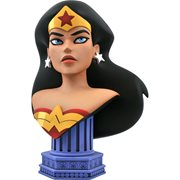 Justice League Animated Legends in 3D Wonder Woman 1:2 Scale Bust