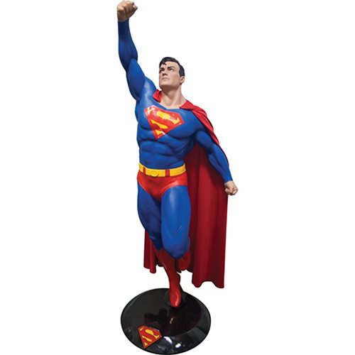 Superman Taking Flight Life-Size Statue