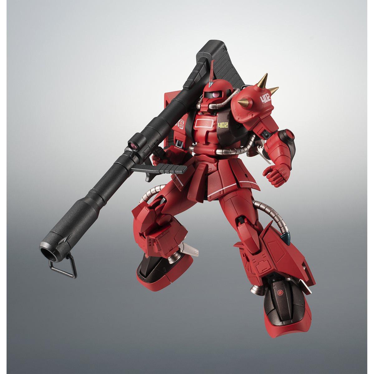 Robot Spirits MS-06R-2 Zaku II Johnny Ridden/'s Custom Ver BAS59098 A.N.I.M.E.