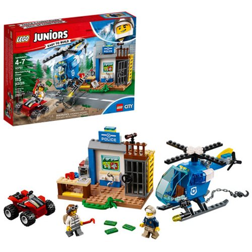 LEGO Juniors City 10751 Mountain Police Chase