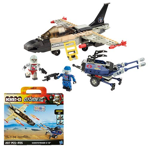 Kre-O G.I. Joe Ghoststriker X-16 Set
