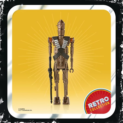 Star Wars The Retro Collection IG-11 3 3/4-Inch Action Figure