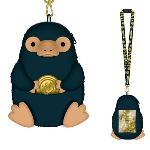Fantastic Beasts Niffler Deluxe Lanyard with Card Holder