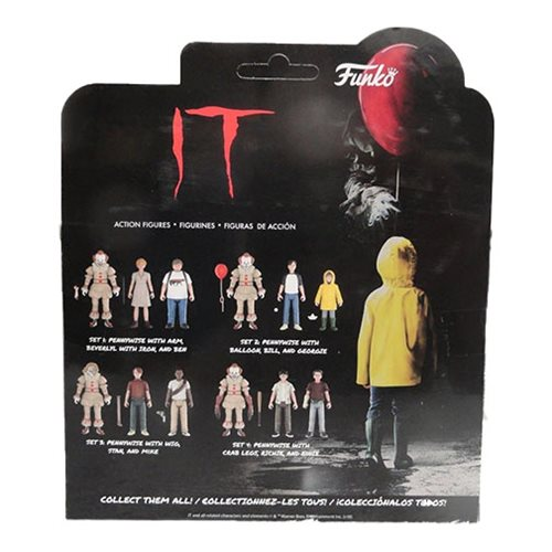 It Action Figure 3-Pack Set #1
