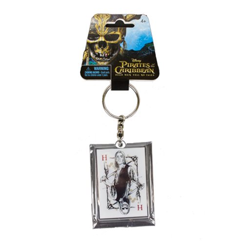 Pirates of the Caribbean: Dead Men Tell No Tales Henry Turner Acrylic Key Chain