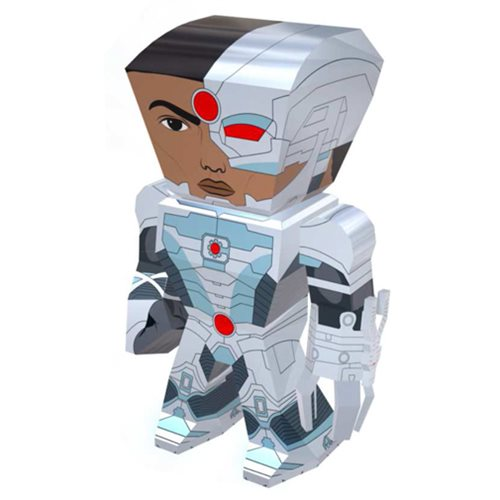 Cyborg Metal Earth Legends Model Kit