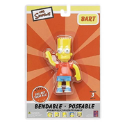 Simpsons Bart Simpson Bendable Figure
