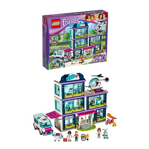 Lego Friends 41318 Heartlake Hospital Entertainment Earth