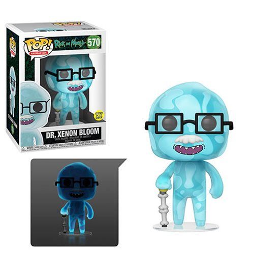 Rick and Morty Dr. Xenon Bloom Pop! Vinyl Figure