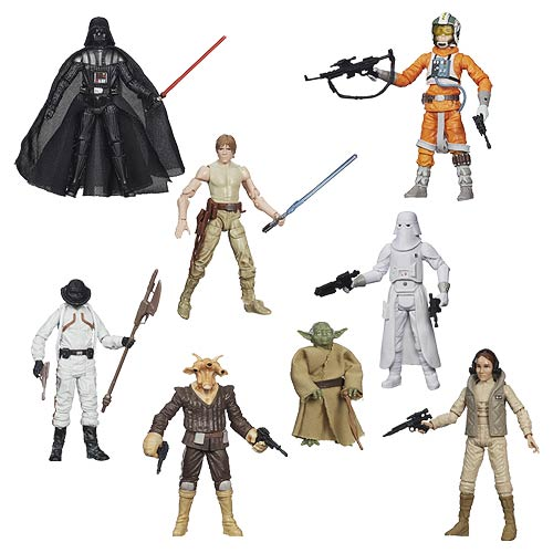 Star Wars The Black Series 3 3/4-Inch Action Figures Wave 5 Case