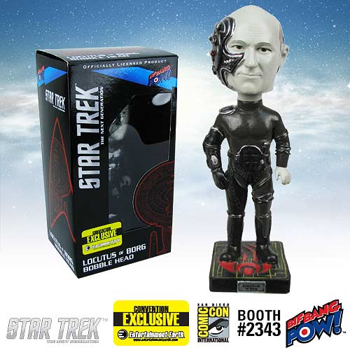 Star Trek: The Next Generation Locutus of Borg Bobble Head - Convention Exclusive