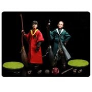 Harry Potter Chamber of Secrets Quidditch Draco Malfoy and Harry Potter 1:6 Scale Action Figure 2-Pack