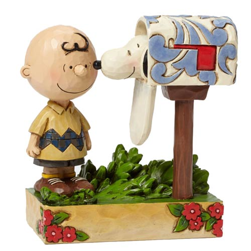 Peanuts Traditions Charlie Brown Special Delivery Statue