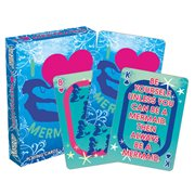 I Heart Mermaids Playing Cards
