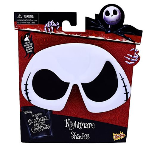 Nightmare Before Christmas Jack Sun-Staches