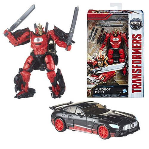Transformers The Last Knight Premier Deluxe Autobot Drift, Not Mint