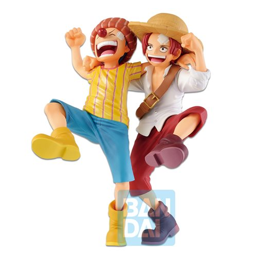 One Piece Shanks and Buggy Legends Over Time Ichiban Statue